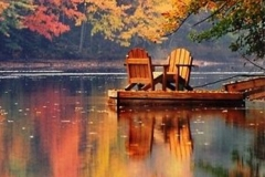 lake-martin-chairs-on-dock-bright-fall-colors